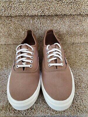 VANS Authentic Brown Unisex Shoes - New without box.   Men's 8 / Women's 9.5