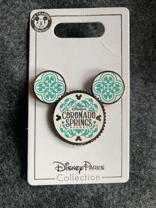 Coronado Springs Resort Walt Disney World Pin Hidden Mickey Trading