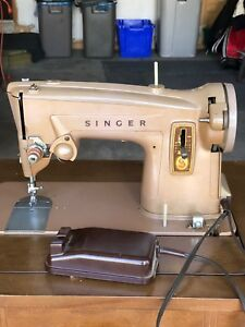 Singer sewing machine!