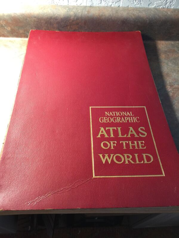 National Geographic Atlas of the World 1963 (2A)