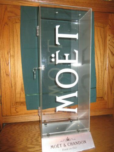 Moet & Chandon Champagne Display Showcase