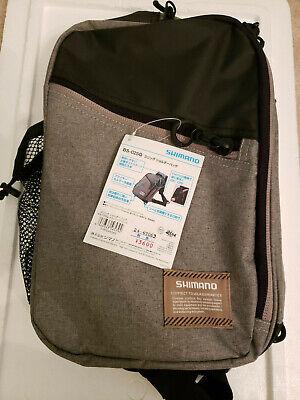 New SHIMANO Sephia EGI Tackle Shoulder Bag Black Fishing Fast Free Shipping