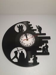 STAR WARS Clock CD Vinyl Record Wall Clock Film Theme Home Decor Hanging Watch
