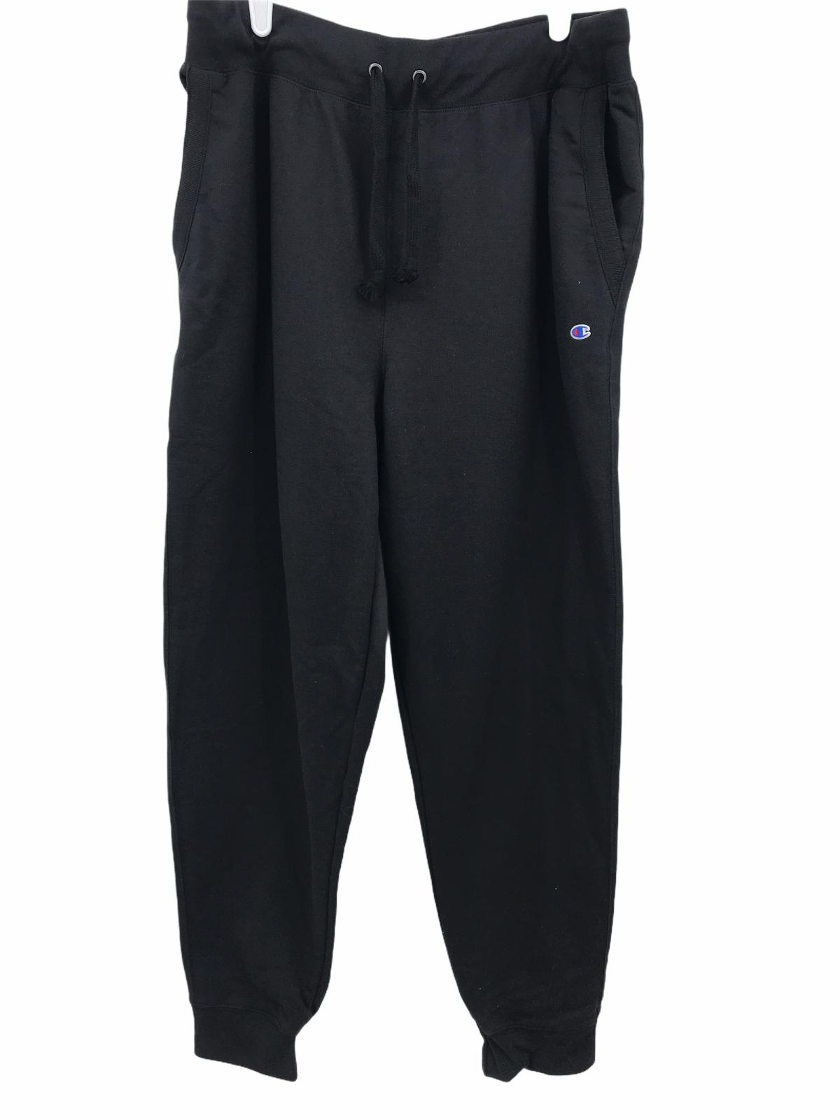 mens authentic athleticwear black sweatpants size 2xl