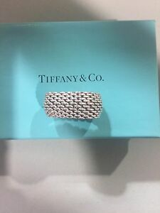 authentic Tiffany Somerset ring size 5