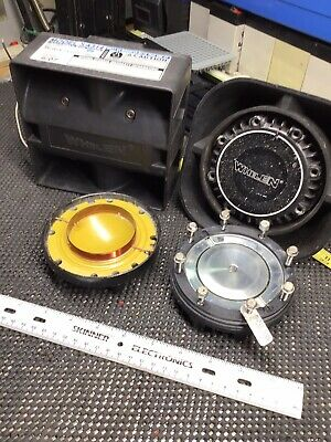 Whelen Sa314 Sa315 Replacement 100 Watt Coil Diaphragm Siren Speaker Repair 100w