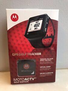 Motorola MOTOACTV GPS Golf Tracker Watch 16GB MP3 Brand New