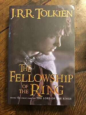 The Lord of the Rings Trilogy by JRR Tolkien, Houghton 1994 Trade Paperback Set