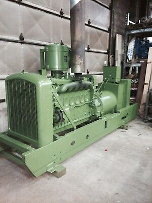 115 Kw Generator Detroit Diesel 6-71 Engine 12 Lead 1 Or 3 Phase 1890 Rpm