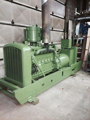 115 Kw Generator Detroit Diesel 6-71 Engine 12 Lead 1 Or 3 Phase 1890 Rpm