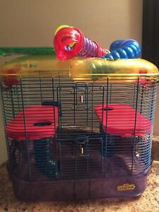 Hamster cage( not suitable for gerbils!!)