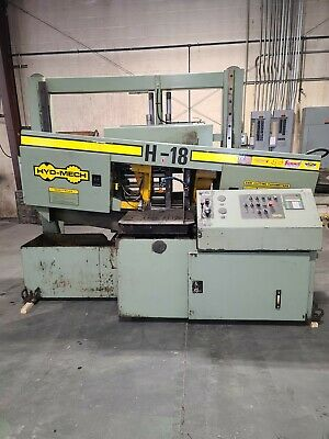 Hyd-mech H-18 Steel Band Saw