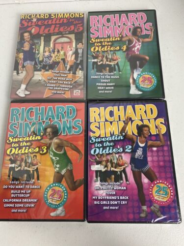 Richard Simmons volumen 2-5  - $46.99