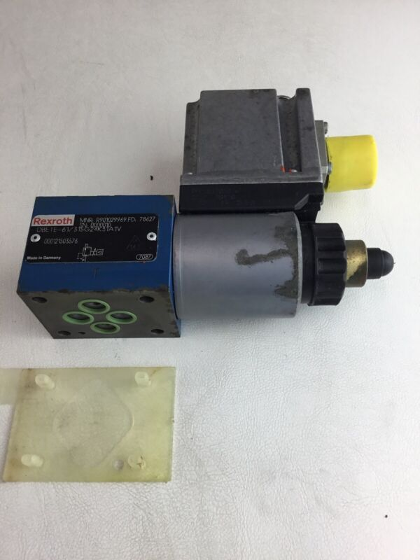 New Rexroth R901029969 Hydraulic Proportional Pressure Control Valve DBETE