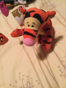 """Brand New Disney MBBP """"New"""" Tigger with bee on butt"""