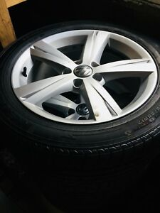 VW wheels with like new tires(SOLD PPD)