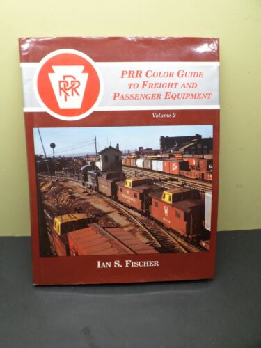 PENNSYLVANIA PRR COLOR GUIDE FREIGHT AND PASSENGER EQUIPMENT BOOK * FREE SHIP *