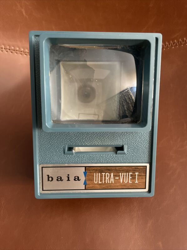 Vintage Baia Ultra-Vue-1  Electric  35mm Slide Viewer