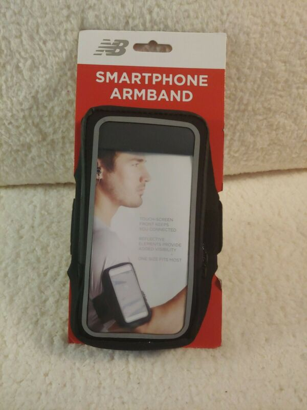 New Balance Smartphone Running Jogging Exercise Black Armband   B3
