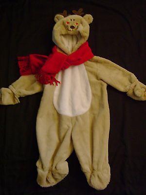 Baby REINDEER Costume HALLOWEEN Christmas Sz 3-6 m 3 6 Holidays CUTE - Reindeer Costume Baby