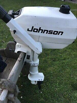 Johnson 4hp 2 stroke outboard motor engine Short Shaft Evinrude OMC