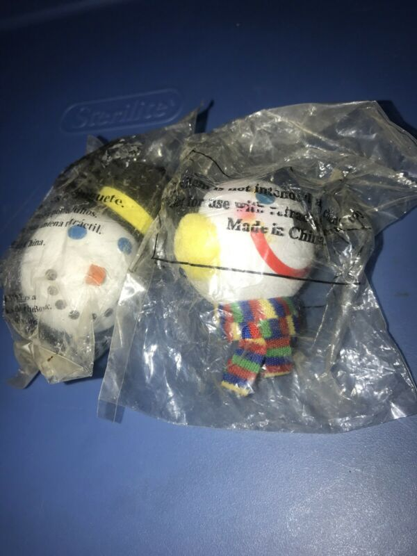 Lot Of 2 Jack in the Box antenna balls