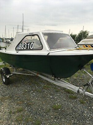 "13"" Fishing Boat ,Trailer and Engine"