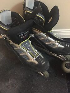 Roller blades used