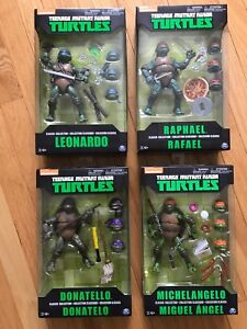 TMNT Movie Figures Collection