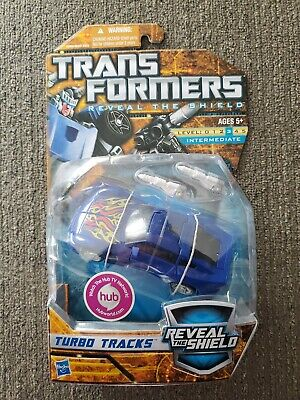 Hasbro Transformers Deluxe Reveal The Shield RTS Turbo Tracks New MOSC Classics
