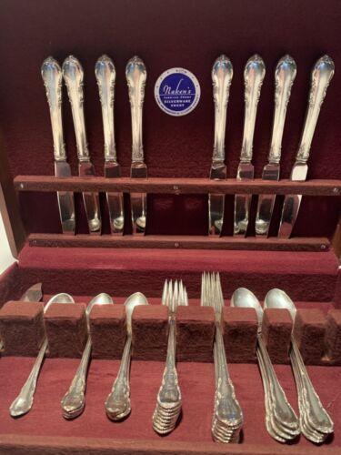 Vintage Sterling silver service of 8 flatware