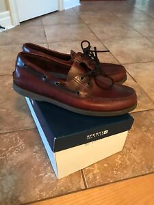 Men's Sperry Topsider Deck Shoes Size 9 Like New