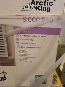 Arctic king window air conditioner