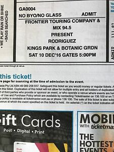 Rodriguez tickets Perth Show Melville Melville Area Preview