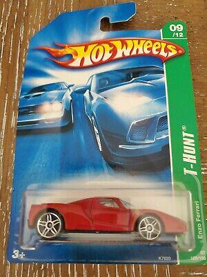 "2007 Hot Wheels regular Treasure Hunt #9 ENZO FERRARI red seats ""super nice"""