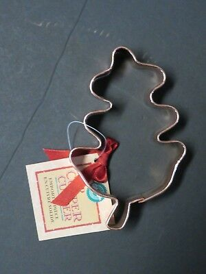 Copper OAK LEAF Halloween Fall Thanksgiving Cookie Cutter 3