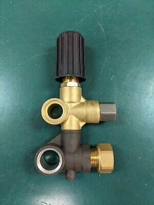 Nos Mi-t-m Pressure Washer Pump Unloader For 3-0414 Pump Part 8-0593