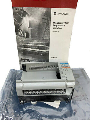 Allen Bradley 1764-24bwa A Micrologix 1500 Plc 176424bwa Programmable Controller
