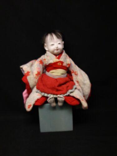 Antique Japanese Boy Doll, All Original
