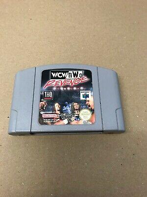 N64 GAME WCW/NWO REVENGE