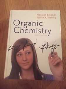 Organic chemistry book $20 and solution manual &15