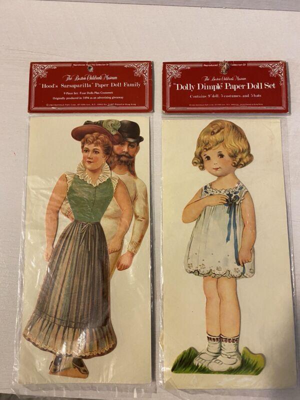 Antique Paper Dolls