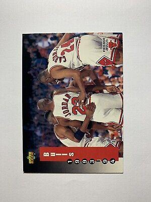 1993-94 Upper Deck Chicago Bulls Schedule With Michael Jordan #213