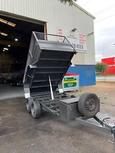10X5 HYDRAULIC TIPPER WITH CAGE Smithfield Parramatta Area Preview