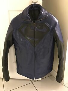 Leather Superman jacket