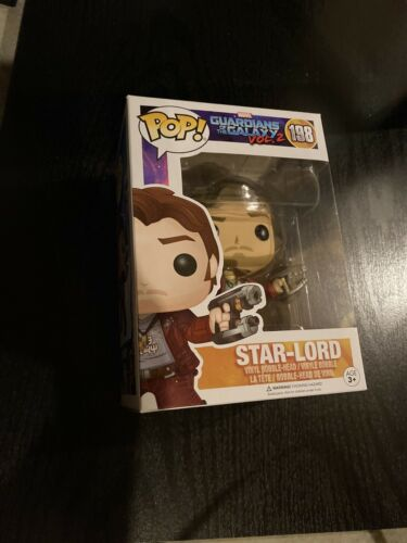 Funko POP Movies: Guardians of the Galaxy 2 Star Lord Toy Fi