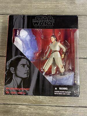"""Star Wars Black Series Deluxe Figure w/Base 6"""" REY (Starkiller Base) Disney"""