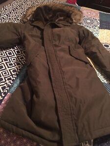 Brown TNA coat/ winter jacke