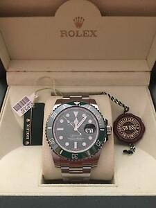 Rolex Submariner Authentic 116610LV aka Hulk Full Set Watch Time Melbourne CBD Melbourne City Preview