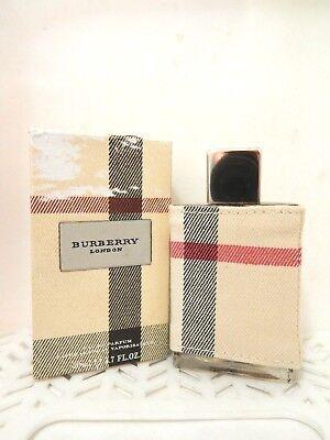 Burberry LONDON EDP Natural Spray with Fabric WOMEN 1.7 oz NIB (122)